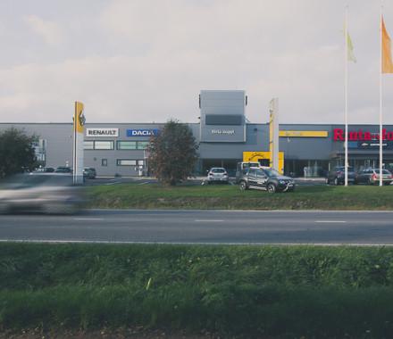 Rinta-Joupin Autoliike, Rovaniemi